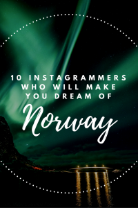 Norway is an incredible destination and these Instagrammers can show you why...