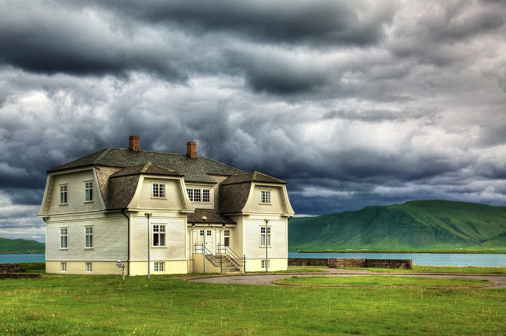 Photo of Hofdi House, Iceland - How to spend 48 hours in Iceland