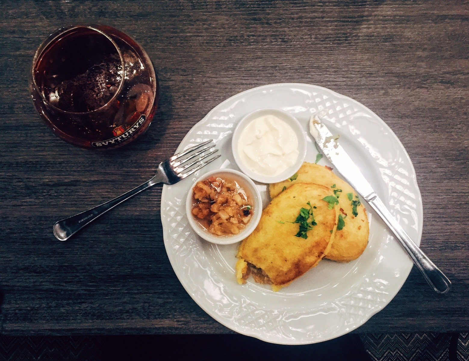 ZEMAICIU BLYNAI Lithuanian potato pancakes