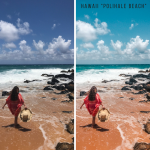 Hawaii Lightroom presets for photo editing