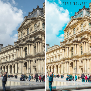 Paris Lightroom presets for photo editing