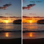 Hawaii Lightroom presets for photo editing