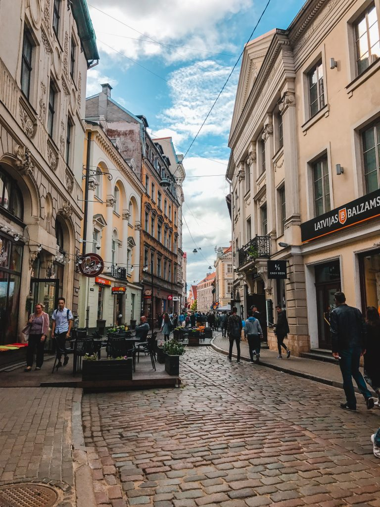 Things to do in Riga - just wander! Riga is picturesque and just wandering through the Old Town is a perfect way to spend a few hours.