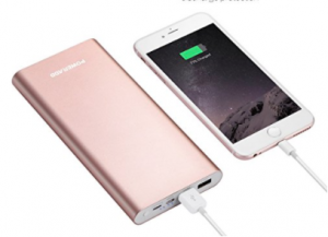 Holiday gift guide for the millennial traveler - portable powerbank