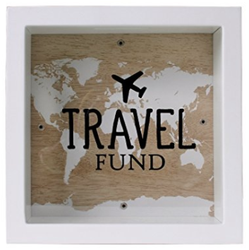Holiday gift guide for the millennial traveler - travel fund money box