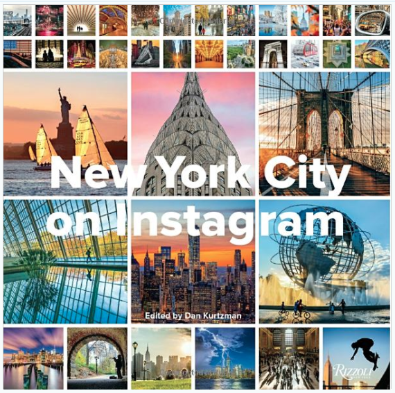 Holiday gift guide for the millennial traveler - new york city instagram book
