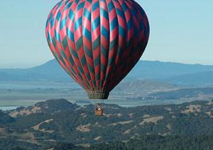 Holiday gift guide for the millennial traveler - experience a hot air balloon ride in Napa
