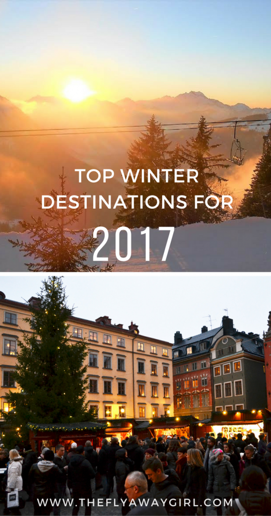 We have rounded up the best winter vacation ideas for 2017! Where will you go?