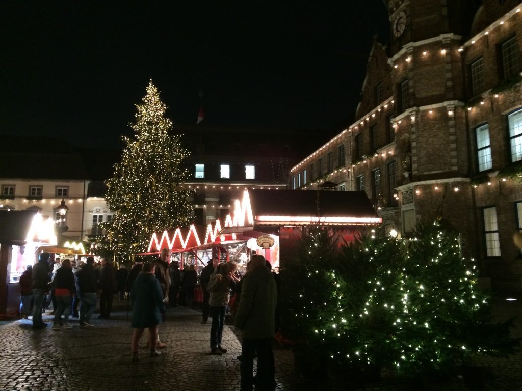 Winter vacation ideas include the amazing Christmas Markets in Düsseldorf, Germany