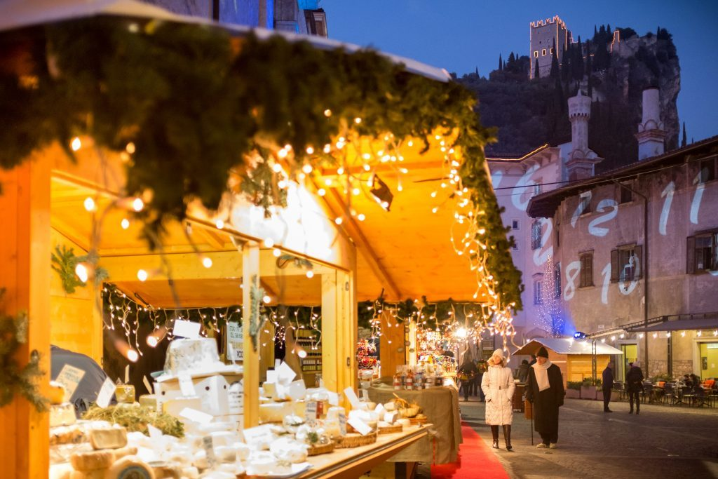 For the best Christmas markets, head to Lake Garda