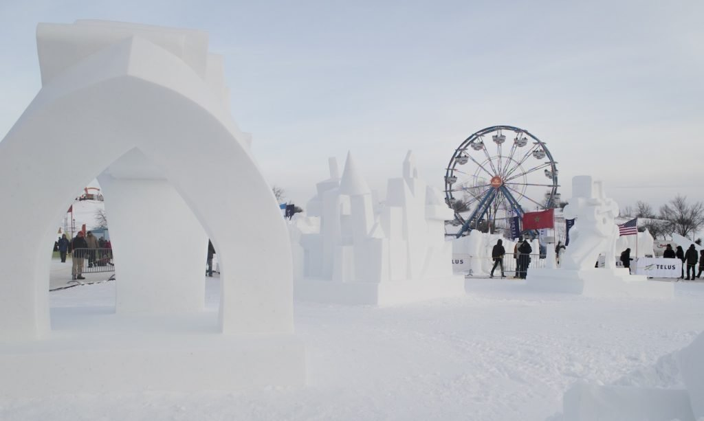 For winter fun head to Quebec City for their festival