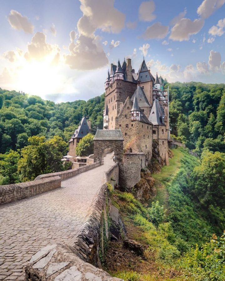 Burg Eltz, Germany, was one of my top destinations in 2017