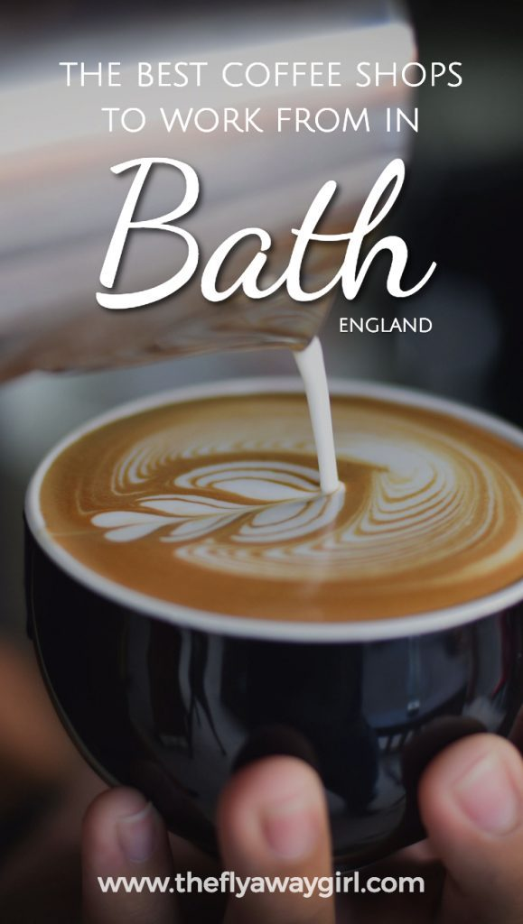 Looking for the best cafes in Bath to get some work done? Look no further and find out the top spots here. #coffee
