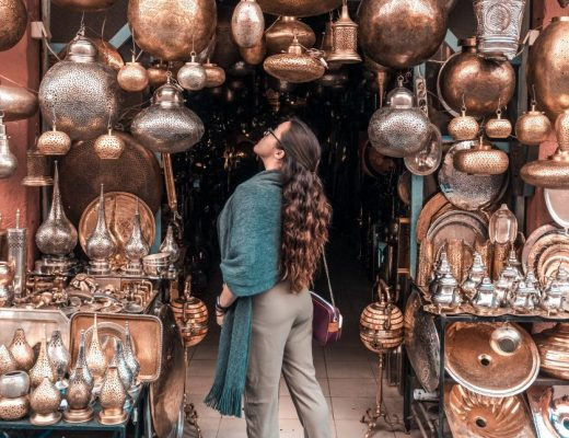 The souks (or markets) are one of the most beautiful places in Marrakech!