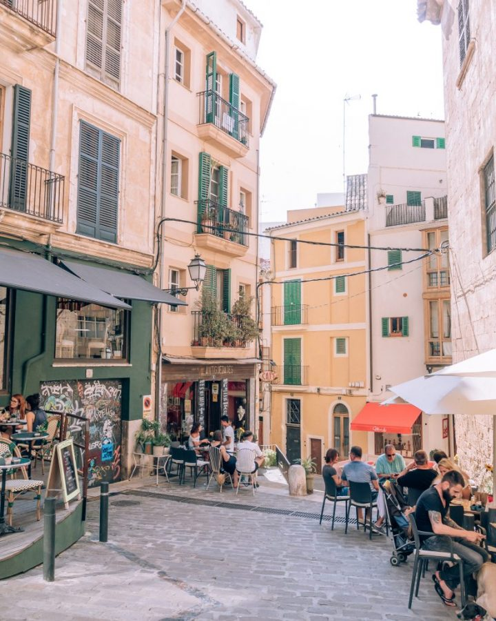 Finding the best coffee in Palma de Mallorca