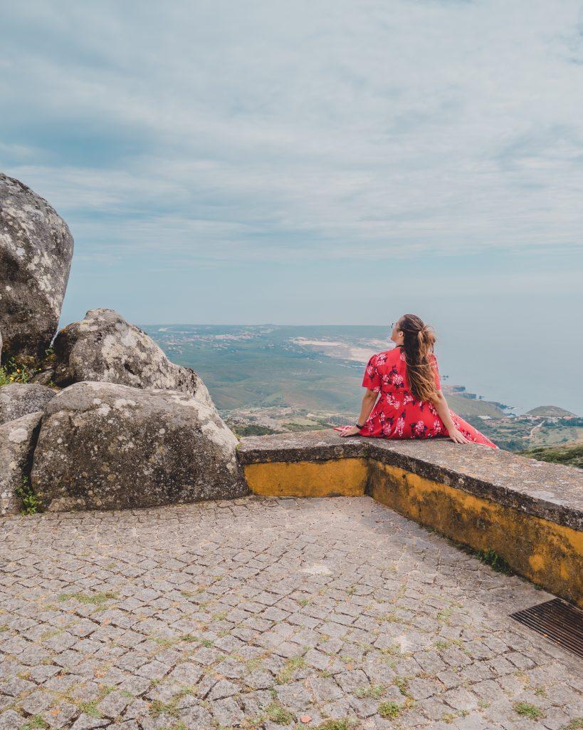 Things to do in Cascais - admire the view over the Atlantic Coast from Santuario da Peninha