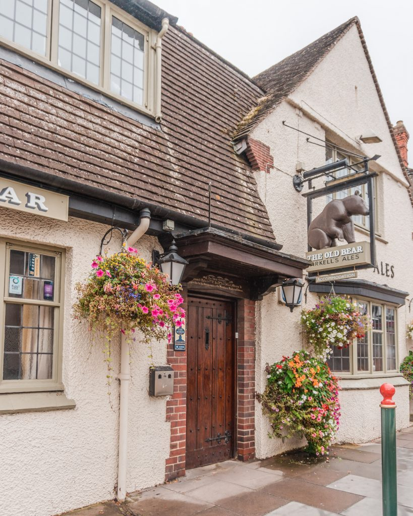 The Old Bear Inn at Cricklade is a great place to base yourself on a Cotswolds road trip