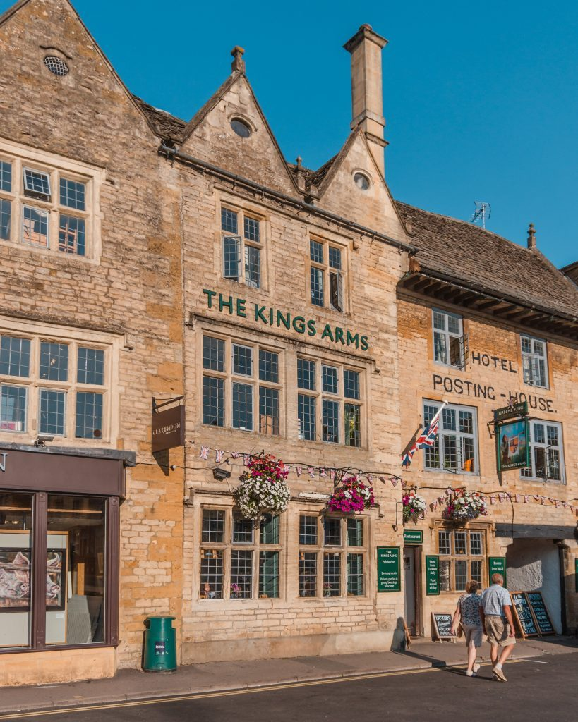 Stow-on-the-Wold is a picturesque market town in the Cotswolds