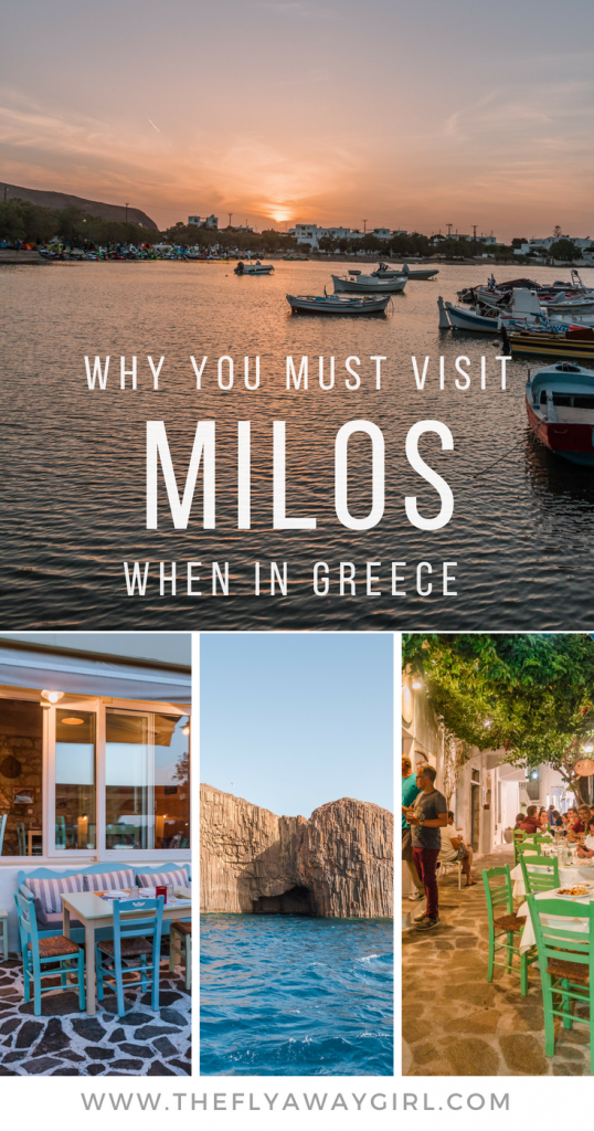 Milos is an underrated Greek island gem - here are the top things to do in Milos that you can't miss!