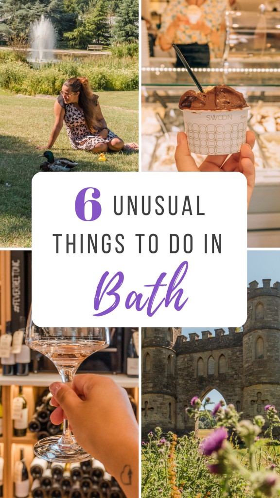 Unusual things to do in Bath include non-snobby wine tasting to fake castles and stand-up paddleboarding - there is an unusual activity to suit everyone!