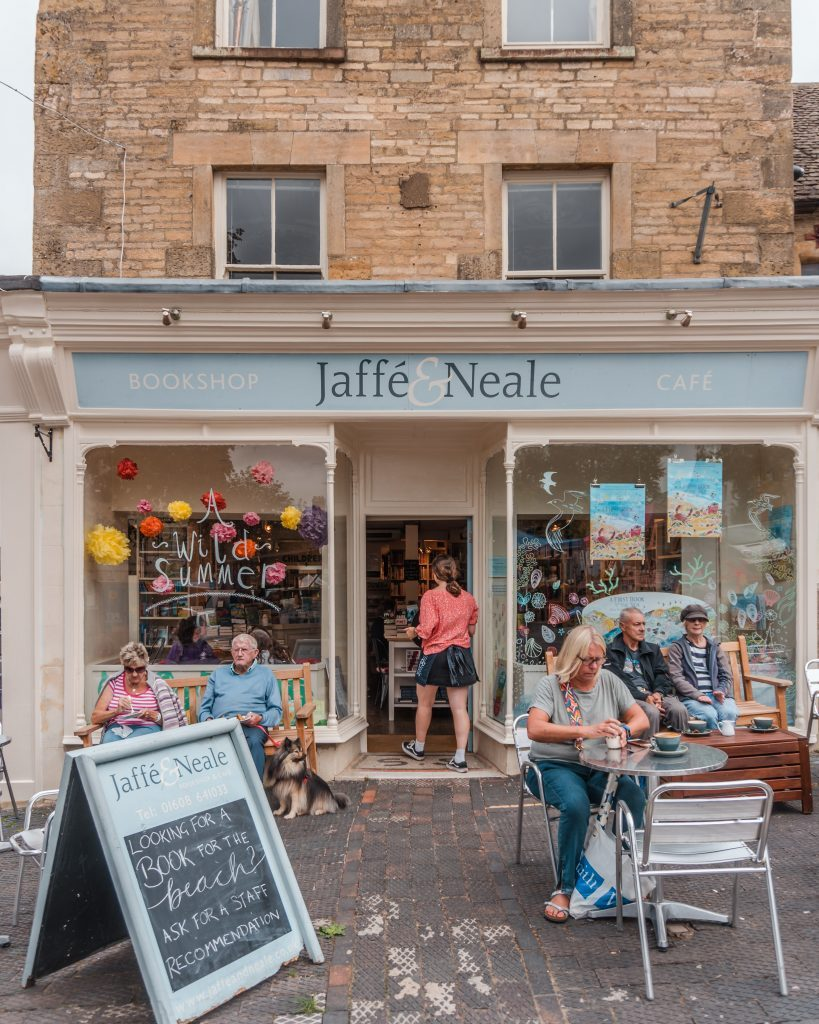 Don't miss out on visiting the bookshop Jaffe & Neale when in Chipping Norton, Cotswolds