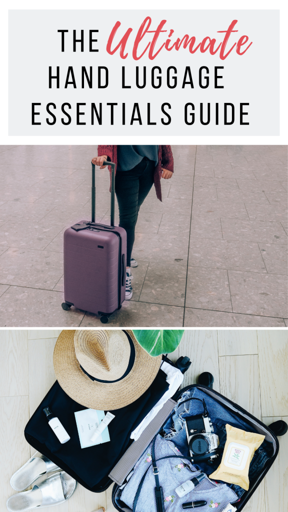 If you're looking for the ultimate hand luggage essentials for long haul flights guide, then look no further. Everything you could possibly need!