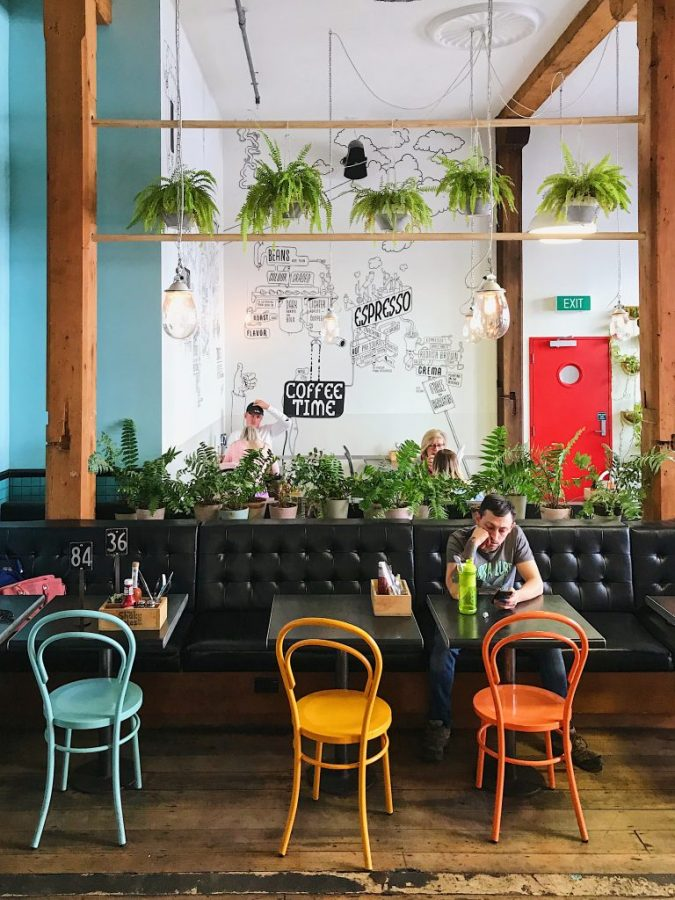 Start your one day in Auckland with a delicious brunch at Shake Isles Coffee Co
