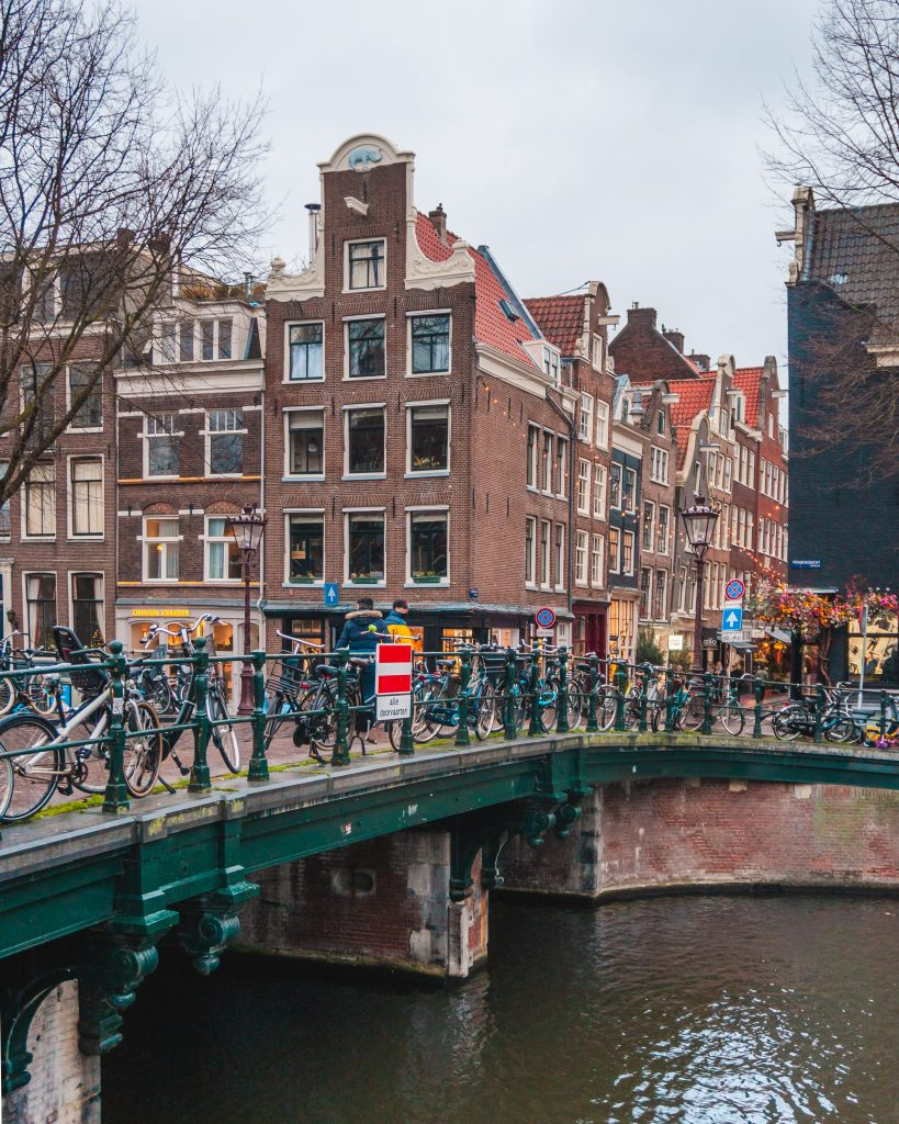 Prinsengracht is one of the best photo spots in Amsterdam! One of the most famous canals in the city is a great spot to get your Instagram shots.