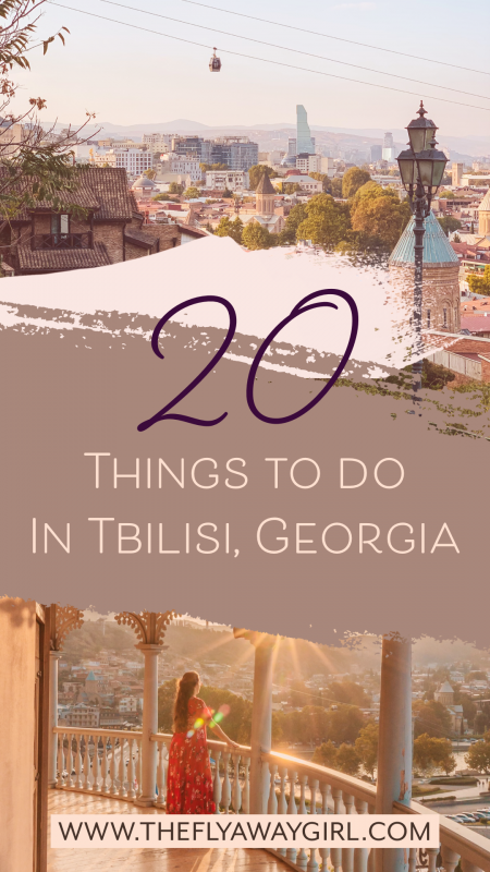 There are so many amazing things to do in Tbilisi! Here are some of the best things to do in Tbilisi, Georgia, including the sulphur baths, cathedrals and theme park. Add these attractions to your Tbilisi itinerary for a perfect visit to Georgia's capital city. #tbilisi
