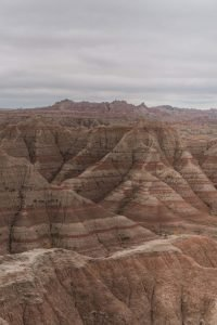 Panorama Point is a great viewpoint in the Badlands National Park