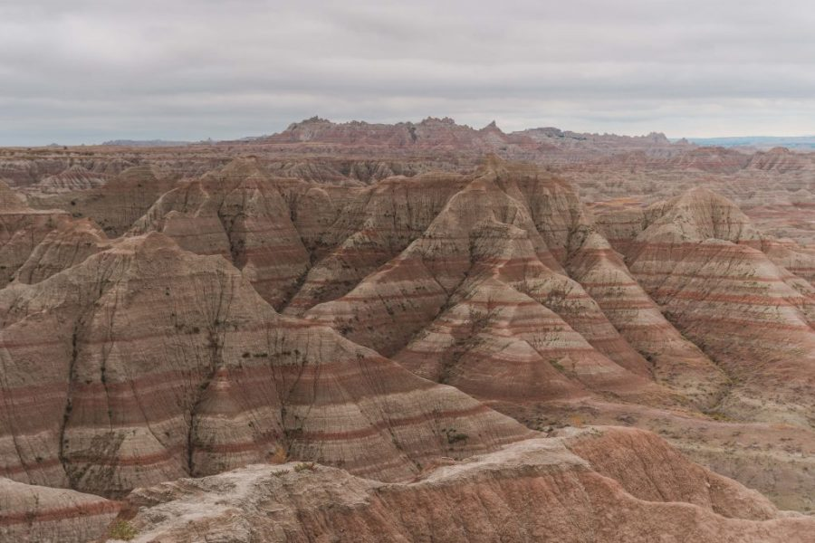 Visiting the Badlands National Park is a must when on a South Dakota road trip