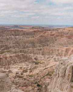 The Pinnacles Overlook is one of the best viewpoints in Badlands National Park