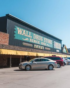 After visiting Badlands National Park, don't miss out on a visit to Wall Drug Cafe in Wall, Badlands