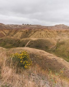 Don't miss the Yellow Mounds on your Badlands road trip in South Dakota