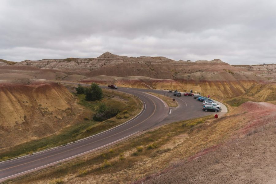 When doing a South Dakota road trip don't miss the spectacular Badlands National Park