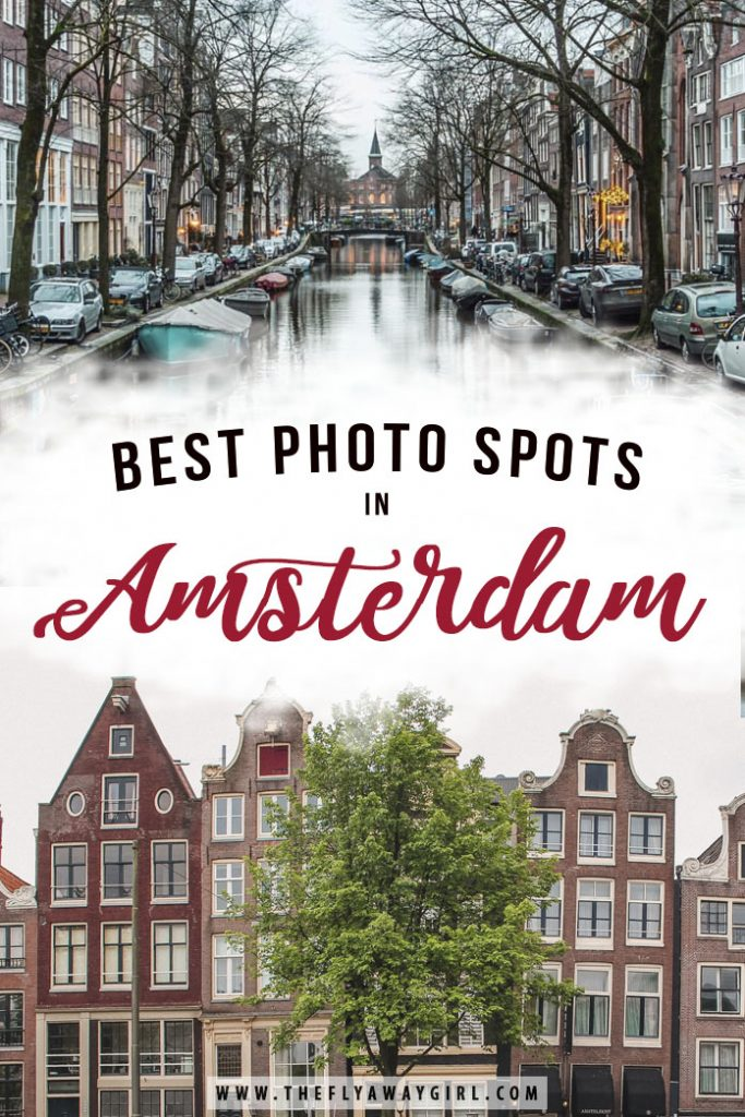 Amsterdam is sometimes referred to as the 'Venice of the North' due to all its canals and bridges. Here are all the best photo spots in Amsterdam!