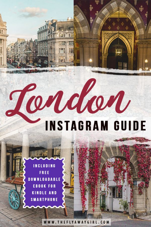 Looking for the best photo spots in London? This downloadable eBook is perfect for reading on the go, whether on a plane, on the tube or just at home on the sofa. My London instagram guide will show you all the best places in the city for your photos!