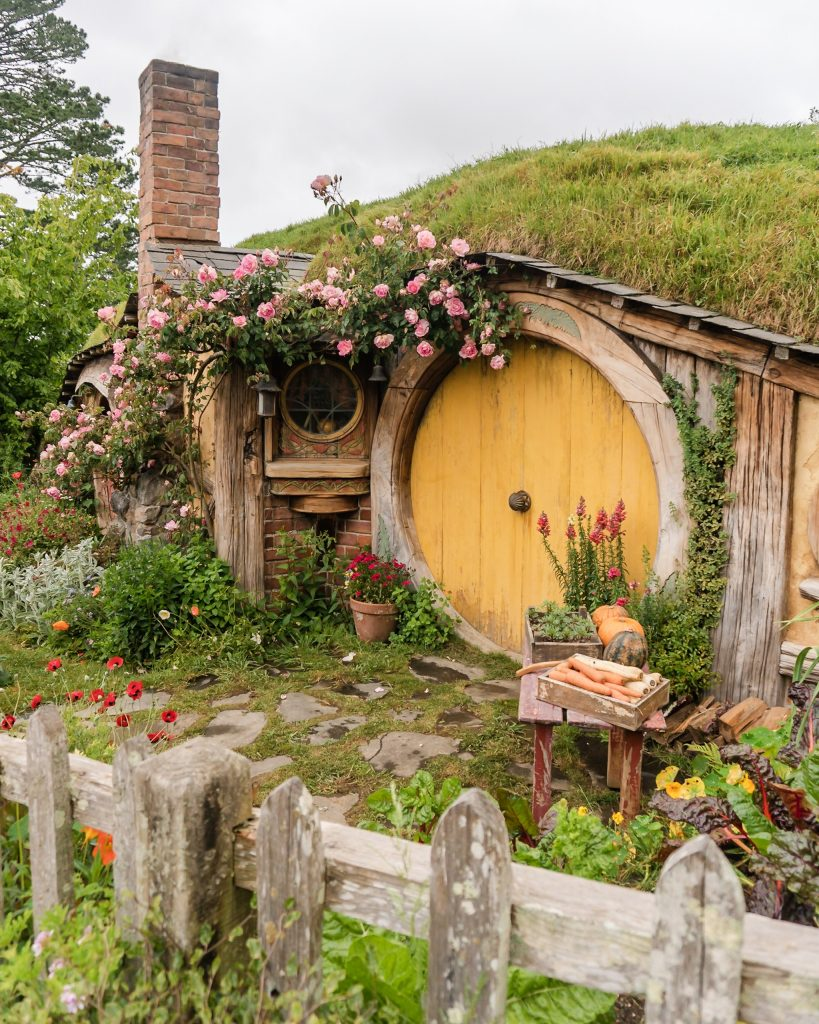 Hobbiton is a must see when visiting North Island, New Zealand. Such a fun place to visit!
