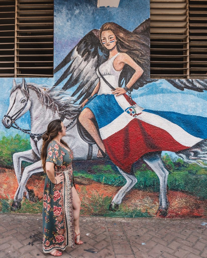 Street art in the Dominican Republic is seriously impressive - one of my favourite places for murals is Santiago de los Cavalleros.
