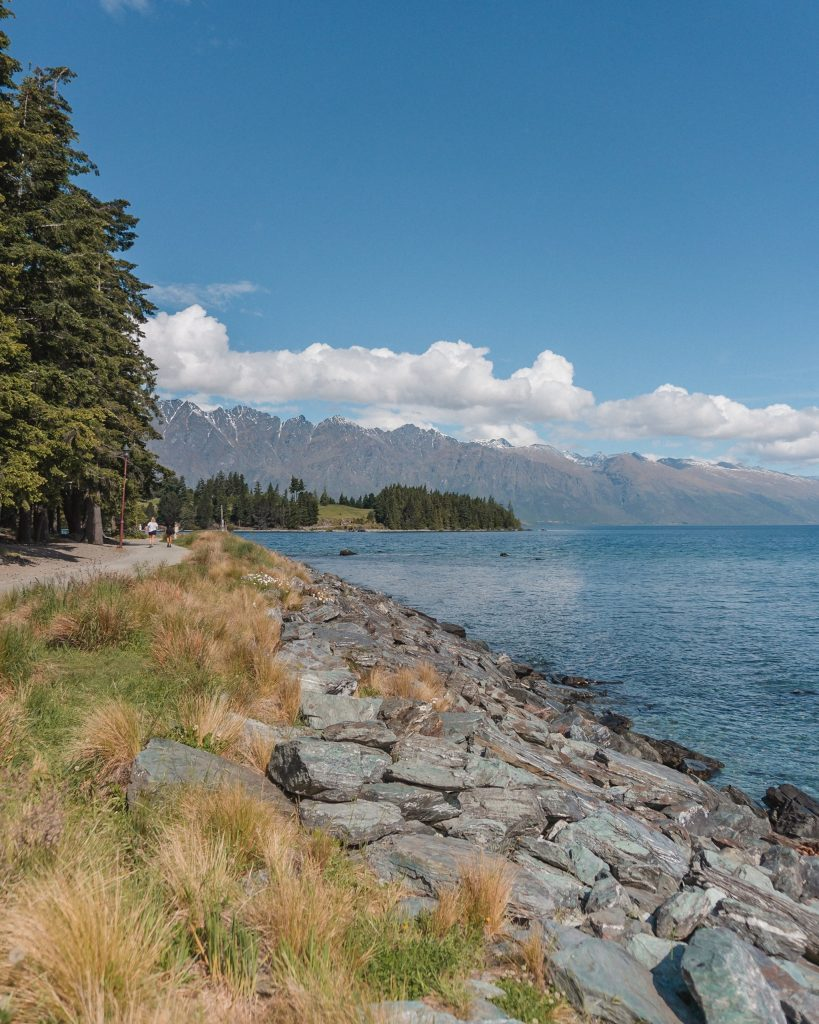 Take a walk around Queenstown Gardens to see some beautiful views of Lake Wakatipu and more of the Queenstown region.