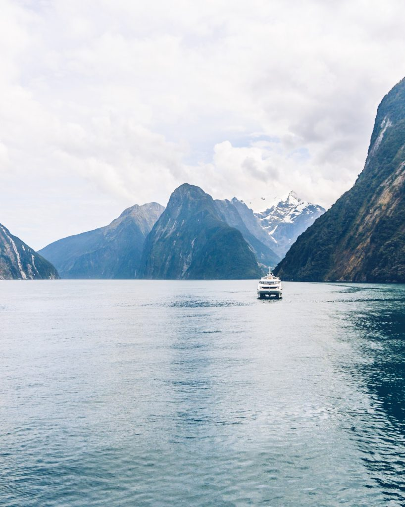 A must do in New Zealand is a Milford Sound cruise! Perfect in any weather, explore these beautiful fjords.