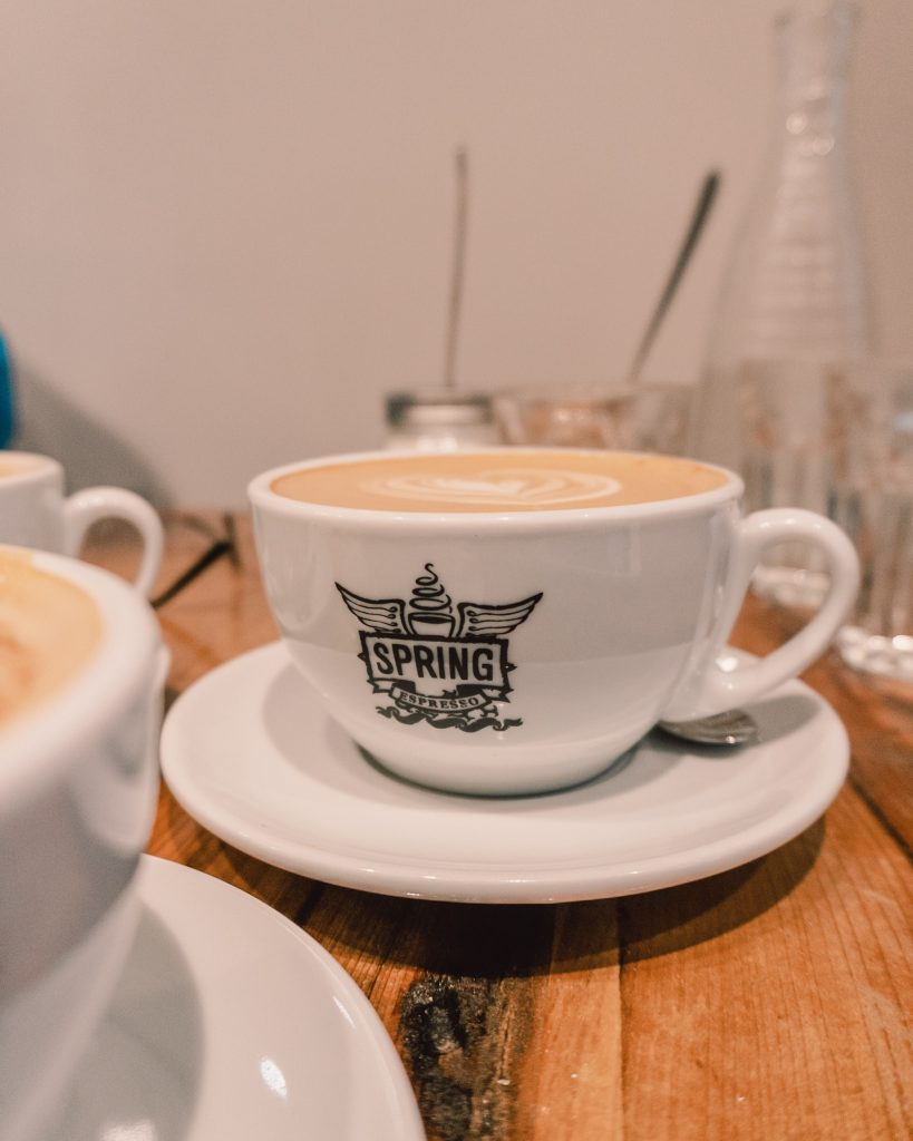 For the best coffee in York head to Spring Espresso either on Lendal or Fossgate!