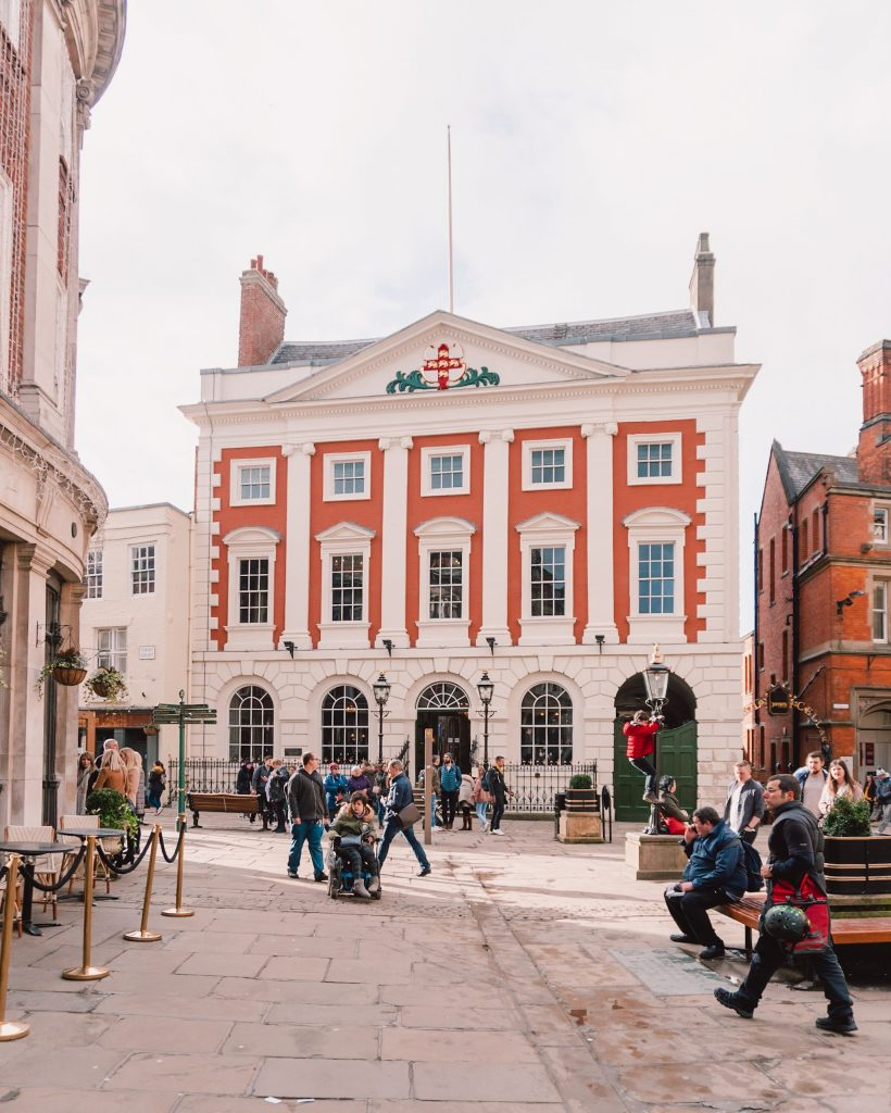 York is home to architecture from many different centuries thanks to it's intriguing history.