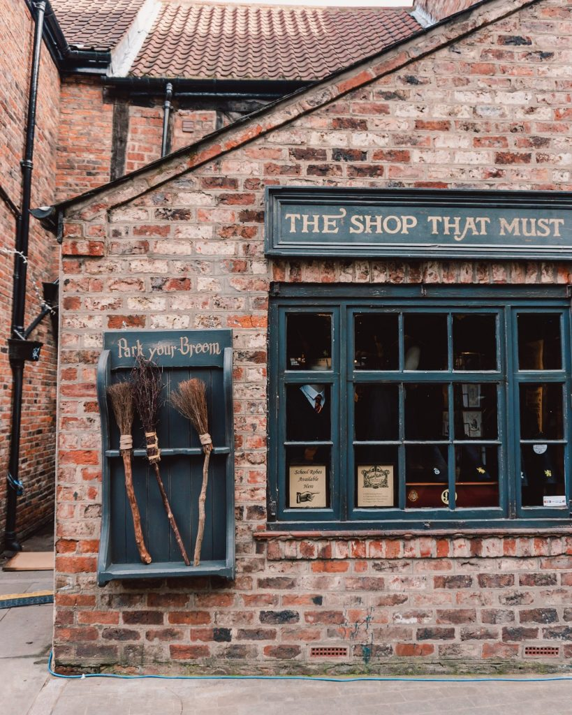 The Shambles is said to be the inspiration for Diagon Alley in Harry Potter so you'll spot lots of Harry Potter inspired shops!