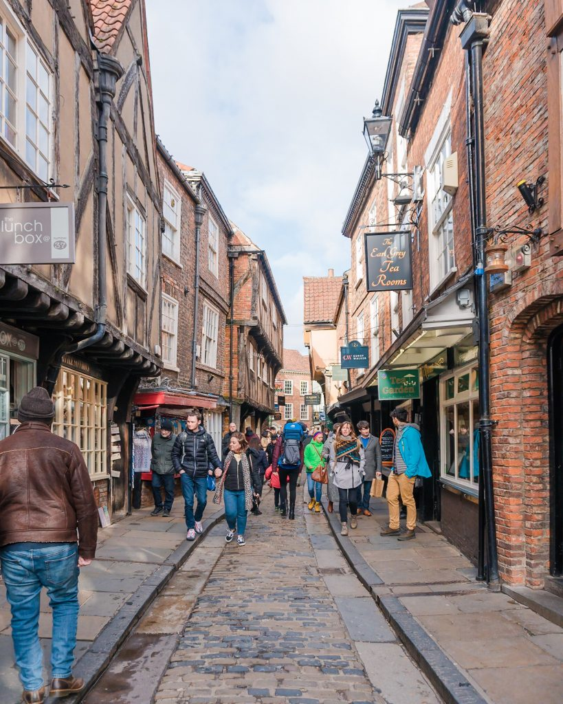 The Shambles are another iconic location in York and you can't miss a visit to the inspiration for Diagon Alley!