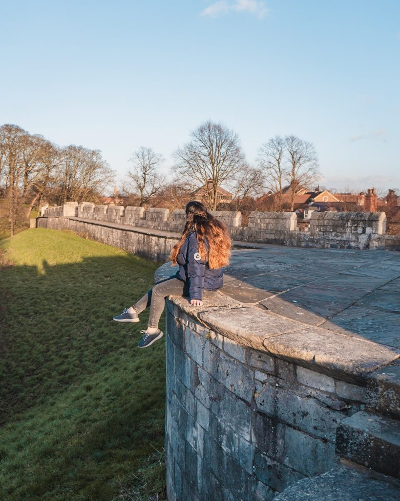 Don't miss exploring the York City Walls on a weekend break in York!