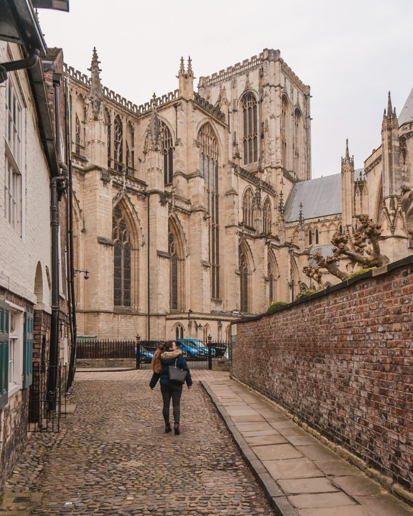Walk down Chapter House Street to get a beautiful shot of York Minster without lots of people in it!