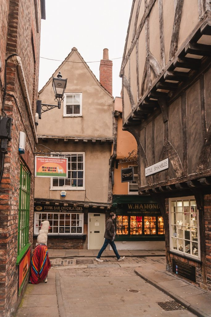 The Shambles is only a short walk from Georgian House & Mews, where we stayed in York for a weekend.