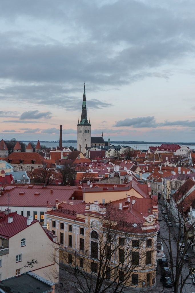 St Olaf's Church is a major landmark of Tallinn and offers awesome views over the old town!
