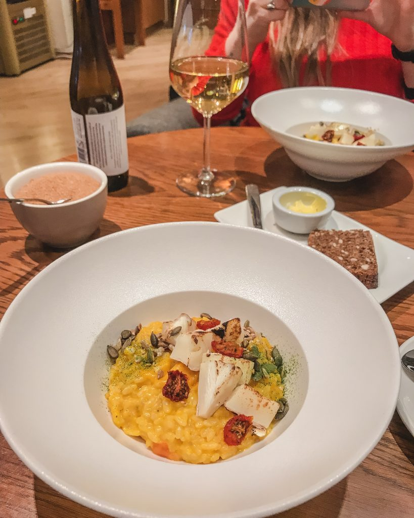 The pumpkin risotto with local cheese was absolutely delicious! For one of the best restaurants in Tallinn, add Gourmet Coffee to your Tallinn itinerary